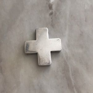 Jewelry - Silver cross enhancer